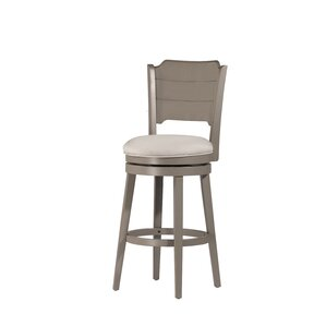 Kinsey 26'' Swivel Bar Stool by Rosecliff Heights