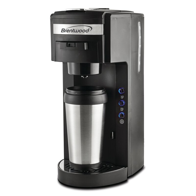 b1677a25d2d Brentwood Appliances K-Cup Coffee Maker & Reviews | Wayfair