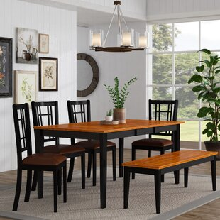 Cleobury Traditional 6 Piece Dining Set