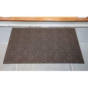 Gladiola Rectangle Rubber Back Doormat