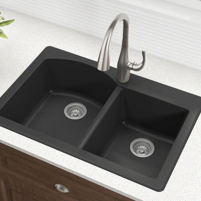 of composite kitchen single white granite sink ikon undermount in bowl picture blanco