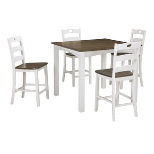 Mccormick 5 Piece Counter Height Dining Set