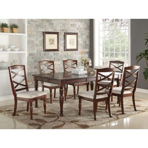 Palisade 7 Piece Dining Set by A&J Homes Studio
