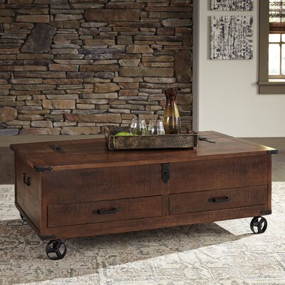 Farmhouse Amp Rustic Casters Coffee Tables Birch Lane