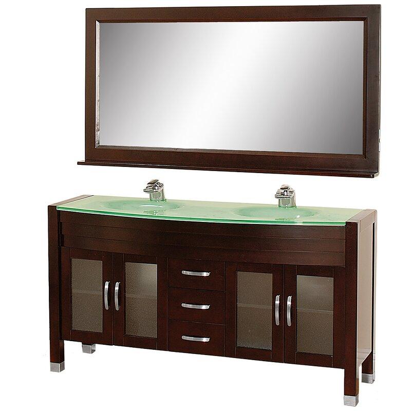 w vanity bathroom espresso platinum sink torino modern product vessel