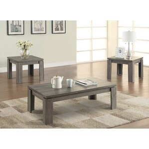 Captivating Norma 3 Piece Coffee Table Set