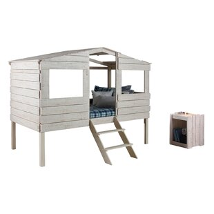 Cabin Loft Bed With Storage
