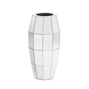 Large Mirrored Floor Vase   Wayfair.co.uk