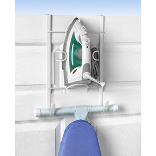 Genial Over The Door Iron And Ironing Board Holder