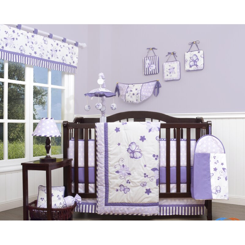 Geenny New Butterfly 13 Piece Crib Bedding Set Amp Reviews