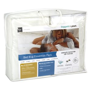 Bed Bug Prevention Packs Premium Bundle Waterproof Mattress Protector by Southern Textiles