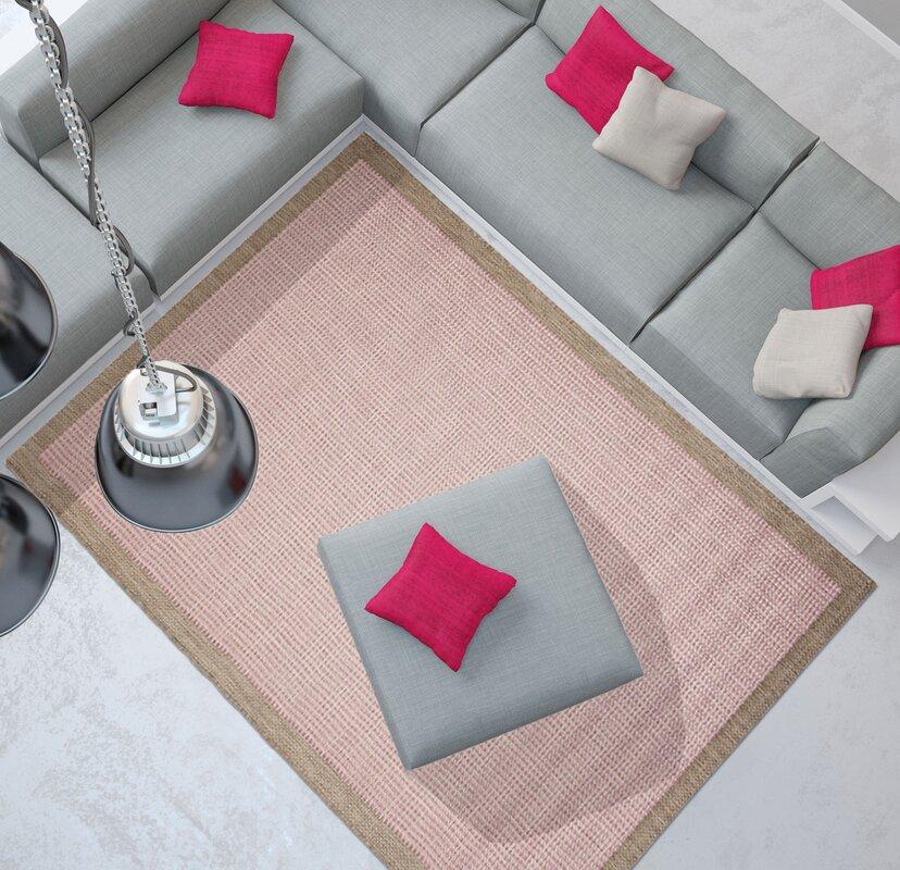 floorita innen au enteppich essentials in rosa. Black Bedroom Furniture Sets. Home Design Ideas