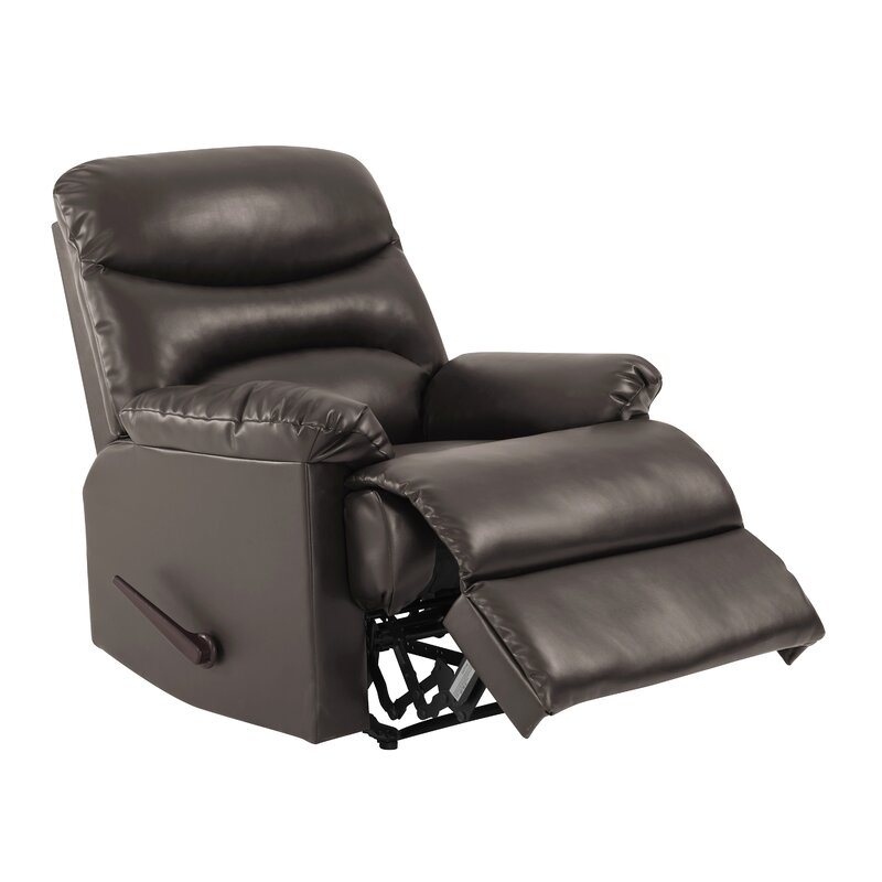 Andover Mills Rossville Chaise Manual Wall Hugger Recliner