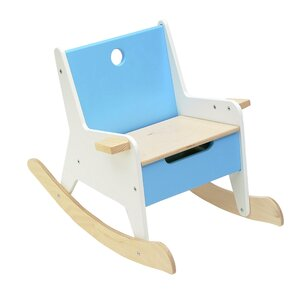 Rockabye Kids Rocking Chair with Storage Compartment by Offi