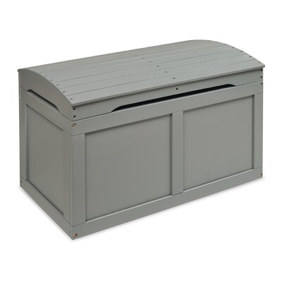 Viv + Rae Jessie Barrel Top Toy Box Finish: Gray