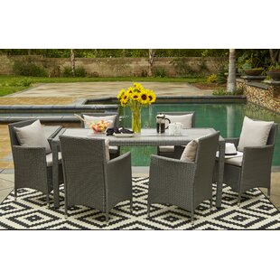 Superieur Ellie Indoor/Outdoor 6 Piece Dining Set