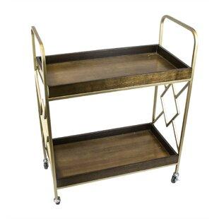 Danyel Metal Bar Cart