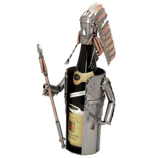 Indian Chief 1 Bottle Tabletop Wine Rack