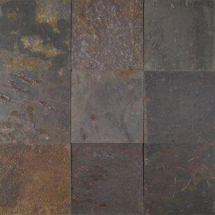 Clic 12 X Slate Field Tile In Multi