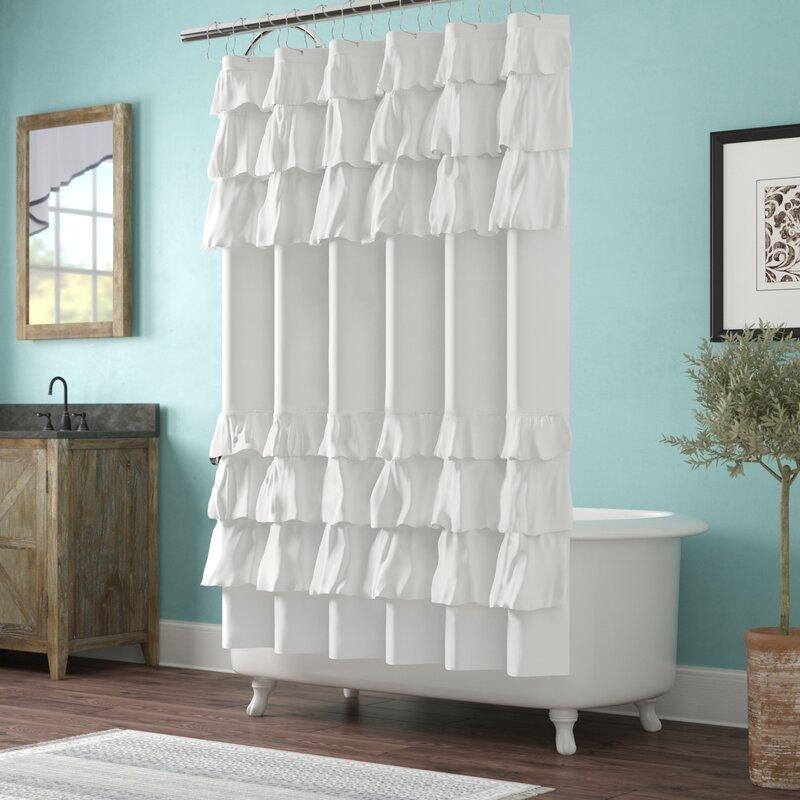 Leflore Microfiber Shower Curtain