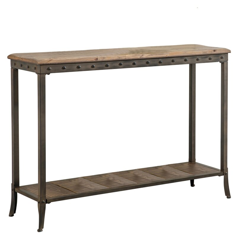 Good Lucia 2 Tier Rectangle Console Table