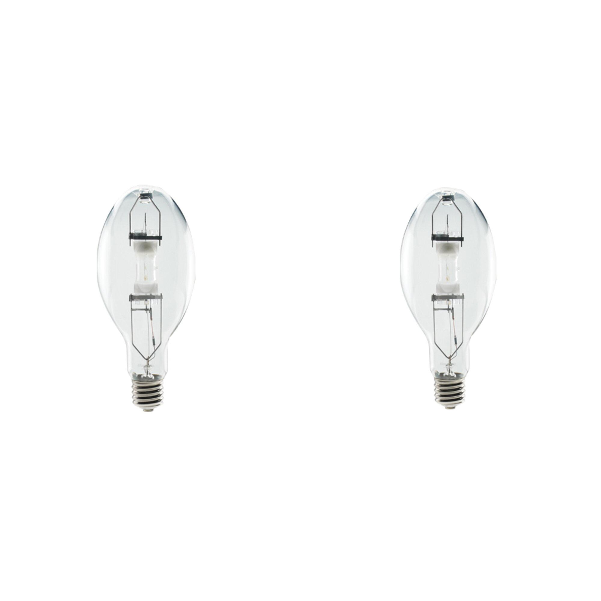 Bulbrite Hid Ed23 5 High Pressure Sodium Mogul E39 Base Universal Burn Light Bulb 50 Watt Clear Coslab Uk