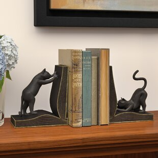 Cat Book End Set Of 2