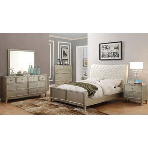 Courtney Upholstered Platform Bed by Willa Arlo Interiors
