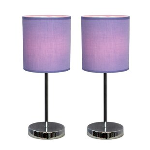 Purple shade table lamps youll love wayfair save mozeypictures Images