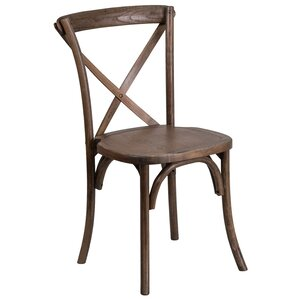 Ivonne Solid Wood Dining Chair by Loon Peak