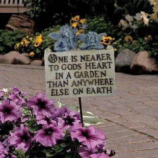 raphaelian angels garden plaque - Garden Plaques