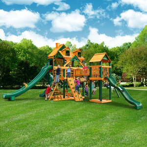 Malibu Treasure Trove II Swing Set