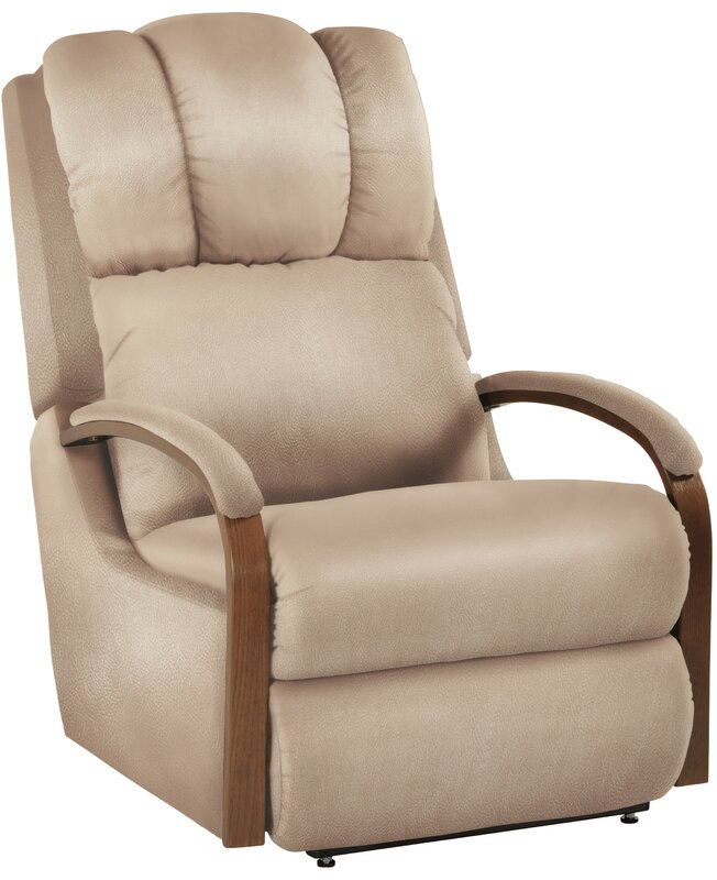 Harbor Town Power Leather Recliner  sc 1 st  Wayfair & La-Z-Boy Harbor Town Power Leather Recliner u0026 Reviews | Wayfair islam-shia.org