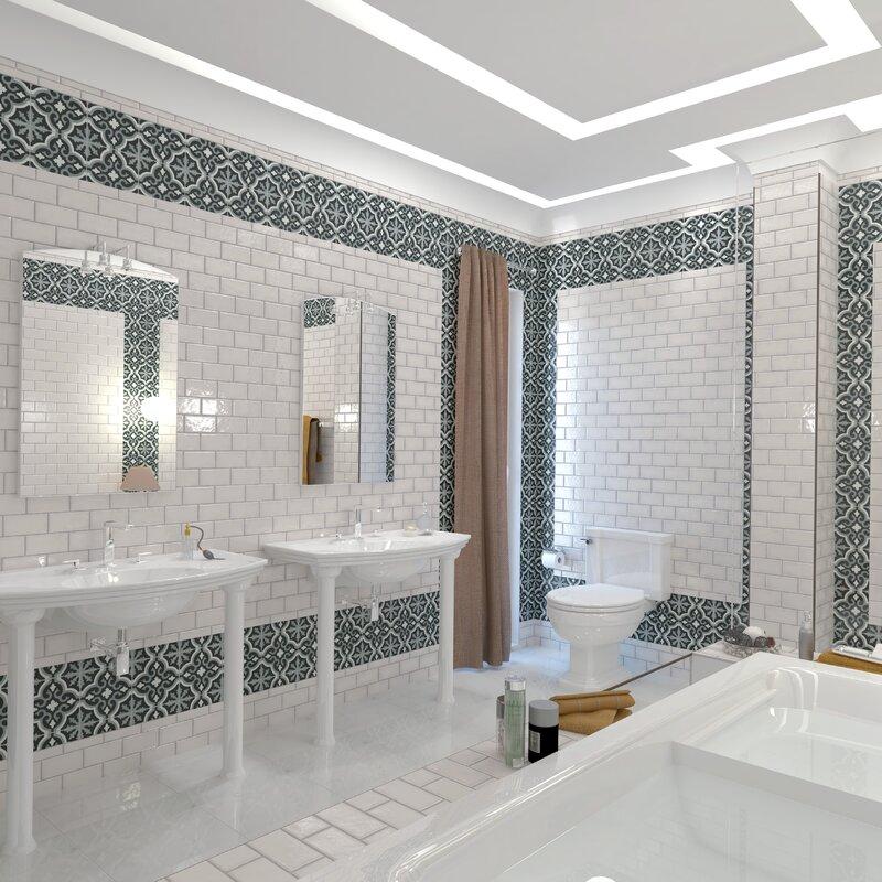 Elitetile Prospect 3 X 6 Ceramic Subway Tile In Glazed White