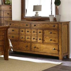 Grandpas Cabin 7 Drawer Standard Dresser by Liberty Furniture