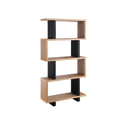 Brayden Studio Paulus Standard Bookcase Size: 66'' H x 35'' W x 11'' D