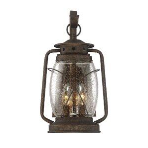 Smith Mountain 3-Light Outdoor Wall lantern