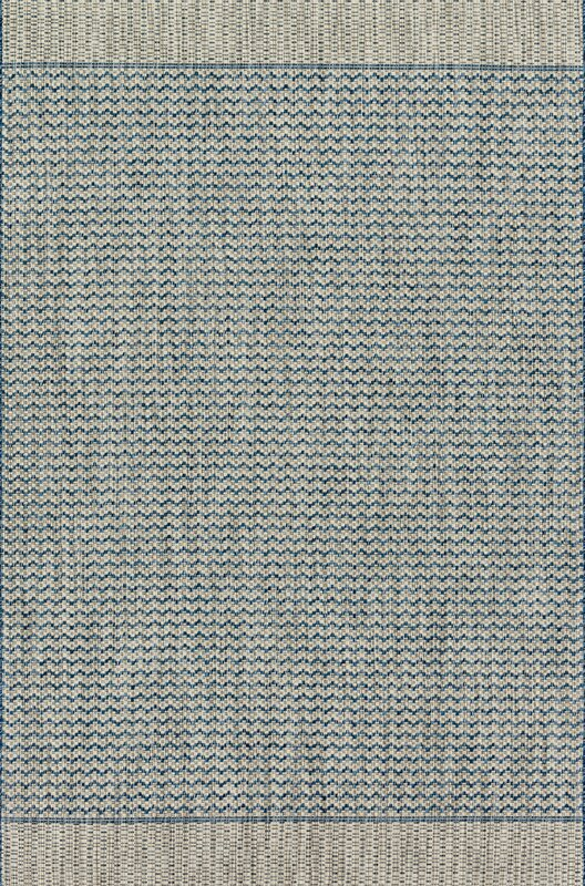 Loloi Rugs Isle Gray/Blue Indoor/Outdoor Area Rug & Reviews | Wayfair