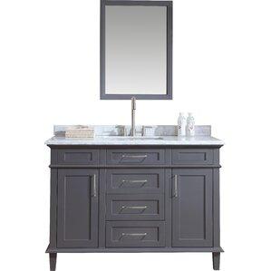 riskin 48 single bathroom vanity set