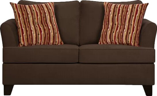 Beau Simmons Upholstery Antin Loveseat Sleeper Sofa