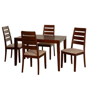 Screven 5 Piece Dining Set by Red Barrel ..