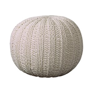 Gilmour Hand Knitted Traditional Pouf ..