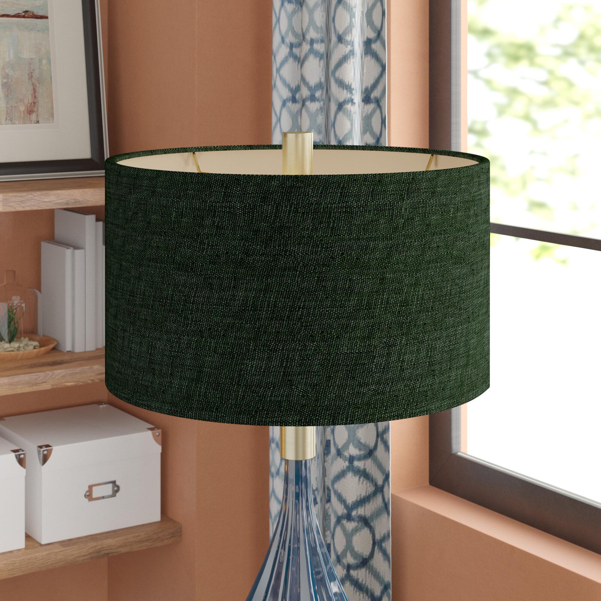 Latitude run 18 fabrics drum lamp shade reviews wayfair aloadofball Gallery