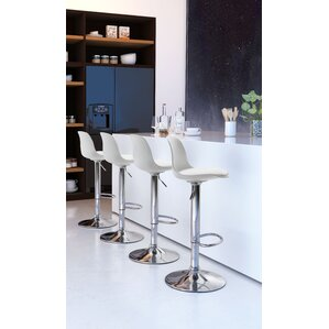 Cinthia Adjustable Height Bar Stool by Orren Ellis