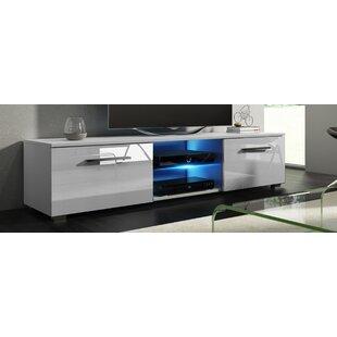 Tv Cabinet With Glass Doors Wayfair Co Uk