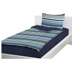Dylon Navy Blue Reversible Bed-In-A-Bag Set