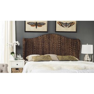 wingback headboard - Wicker Bed Frame