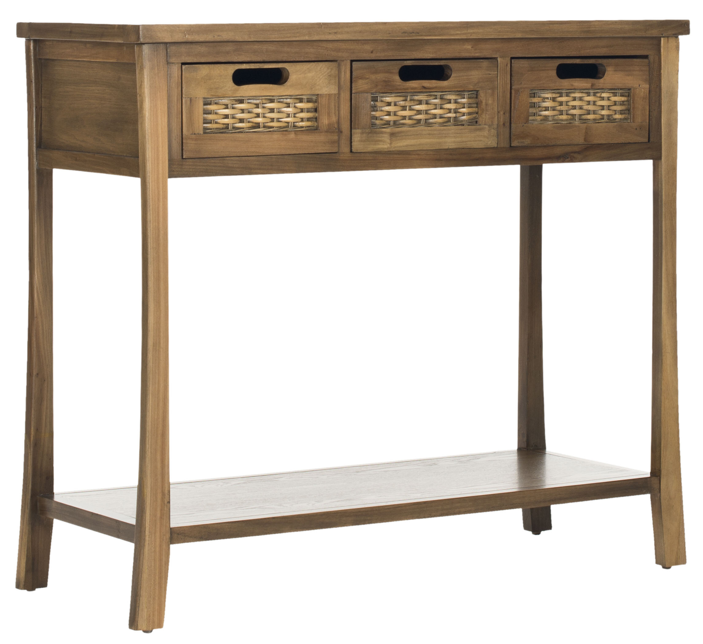Brilliant Becket 3 Drawer Console Table Interior Design Ideas Oxytryabchikinfo