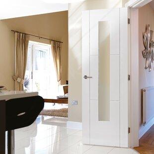 Mistral Hollow Glazed MDF Slab Internal Door by JB Kind Doors
