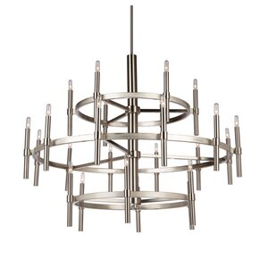 Bushong 24-Light Candle-Style Chandelier